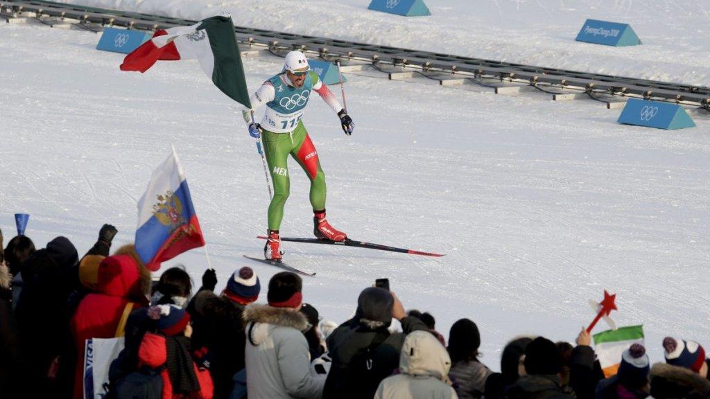 Germán Madrazo, México Juegos Olímpicos de Invierno