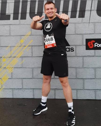 Benoit Verité, adidas runners Mexico City